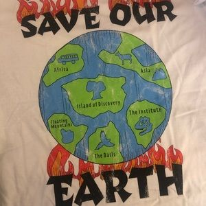 """The lost bros save our plant """"animal kingdom"""" tee"""